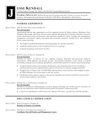 payroll specialist sample resume relevant work experience payroll specialist sample resume relevant work experience include list of education and certifi