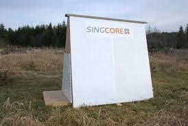 Ice Fishing Shanty   Non warping patented honeycomb panels and    Sing Aluminum Fish House