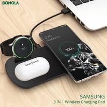 <b>Беспроводная зарядная панель</b> Bonola 3 в 1 для <b>Samsung</b> S20 ...