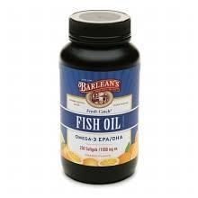 Barlean's Organic Oils <b>Fresh Catch Fish Oil</b> Omega-3 EPA/DHA ...
