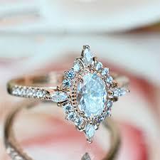 <b>ROMAD</b> Vintage <b>Crystal Rings</b> for Women Magic Mirror Retro <b>Rings</b> ...