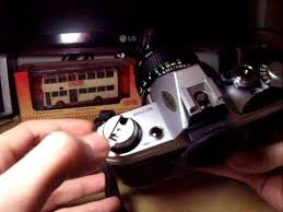 How to Unload <b>Film</b> From SLR Camera (<b>Canon</b> AE-1) - YouTube