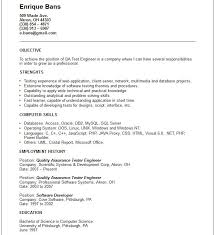 software qa lead resume sample analyst quality control quality resume format for quality engineer