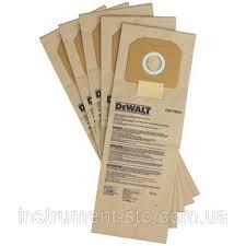 <b>Мешки</b> одноразовые <b>бумажные</b> для пылесоса (5 шт.) DWV902L ...