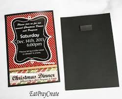 christmas party decorations you can include your ward and the address as well mine are whited out