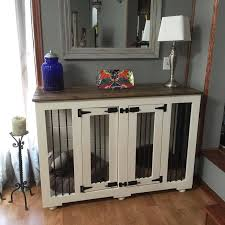 1000 ideas about dog crate furniture on pinterest dog crates wooden dog kennels and dog crate end table furniture style dog crates