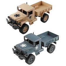 Wltoys <b>124301 1:12</b> 4WD Military Truck Electric Remote Control Toy ...