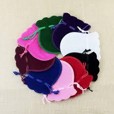 <b>100PCS</b> lot 7x9cm Gourd Velvet Jewelry Bag Gift Packaging ...