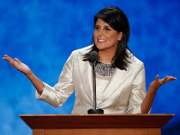 nikki haley tapped for state of union response business insider
