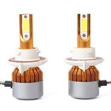 Dicen One Pair of C6 H13 Car Led Headlight <b>Cob</b> Light Source ...