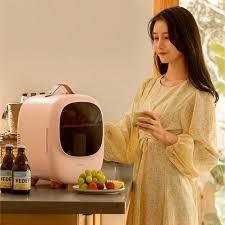<b>8l Mini Refrigerator Small</b> Dormitory Refrigeration Dual-Use Car ...