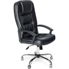 <b>Кресло</b> руководителя <b>TetChair СН9944 хром</b> кож/зам черный ...
