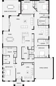This layout is too cool  Bond   House Plan   Energy Efficient Home    Jasper  New Home Floor Plans  Interactive House Plans   Metricon Homes   South Australia