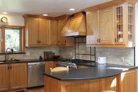 size kitchen desaignhickory wood custom