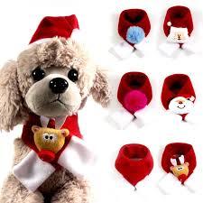 1pc Fashion Bib <b>Pet</b> Scarf Red Collar <b>Cat Accessories Christmas</b> ...
