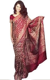 Banarasi saree from North India
