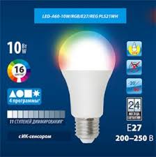 <b>LED</b>-<b>G45</b>-7W/WW/E27/FR PLP01WH картон — <b>Uniel</b>