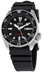 seiko men s snf672 dress black leather strap watch seiko seiko men s skx173 automatic dive urethane strap watch