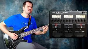 Обзор <b>гитарного процессора ZOOM G3n</b> - YouTube