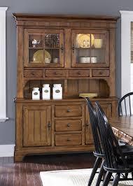 rustic hutch dining room: treasures buffet amp hutch in rustic oak finish by liberty furniture  ch