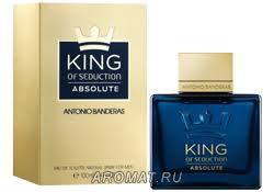 <b>Antonio Banderas King</b> of Seduction Absolute на Aromat.ru