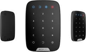 <b>Беспроводная сенсорная клавиатура Ajax</b> KeyPad, Black ...