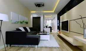 awesome home decorating for elegant small living room design with cool black leather sleeper sofa and white wooden coffee table under crystal chandeliers as awesome large living room