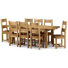 delivery dorset natural real oak dining set: oak dining table and chairs for room design ideas