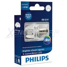 Светодиодная <b>лампа P21W Philips</b> X-treme Ultinon LED - 12898X1