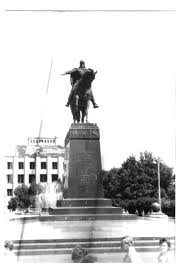 Statue of Yuriy Dolgorukiy, Moscow