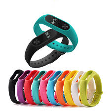 <b>BUMVOR</b> 1 pcs Xiaomi mi <b>Band</b> 2 Wrist <b>Strap Belt Silicone</b> Colorful ...