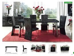 Black Formal Dining Room Set Picturesque Bayle Black Formal Dining Room Furniture Set Oval