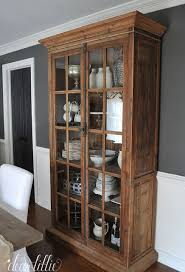 rustic hutch dining room: a new piece for our dining room by dear lillie