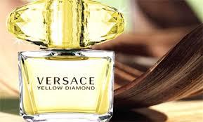 Kết quả hình ảnh cho Versace Yellow Diamond, hộp vàng( EDP)