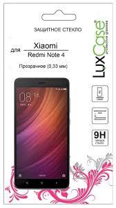 <b>Защитное стекло LuxCase для</b> Xiaomi Redmi Note 4 — купить по ...