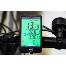 ไมล์จักรยาน <b>SD</b> - <b>576A</b> Waterproof Bike Computer Light Mode Touch ...