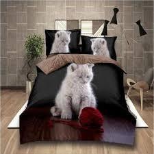 3D bedding set flower duvet cover set 3pcs/2pcs bedding ... - Vova