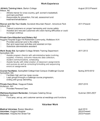 volunteer experience resumes   zaqio fresh from the captain    s resumeexperience sample resume