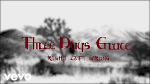 <b>Three Days Grace</b> - Right Left Wrong (Official Lyric Video) - YouTube