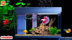 Xiaomi Descriptive <b>Geometry AI intelligent</b> modular fish tank ...