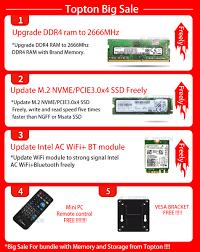 TOPTON <b>10th Gen Nuc</b> Intel i7 10750H i9 9880H Xeon 2286M Mini ...