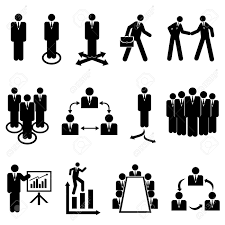 businessmen teams and teamwork icons royalty cliparts businessmen teams and teamwork icons stock vector 16542818