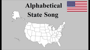 alphabetical us state song alphabetical us state song