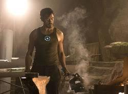 stark makes his first armor bedroom upstairs tony stark