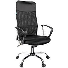 Кресло, <b>Кресло руководителя Helmi</b> 274814, Сетка, Экокожа ...