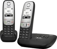Купить <b>Gigaset A415A Duo</b> black в Москве: цена <b>радиотелефона</b> ...