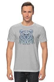 <b>Футболка классическая Printio Ethnic</b> bear #2489712