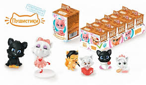 <b>Мармелад с игрушкой Sweet</b> Box Пушистики Котята 10 г в ...
