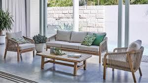 Buy Rimini <b>4</b>-<b>Piece Outdoor Lounge</b> Setting   Harvey Norman AU