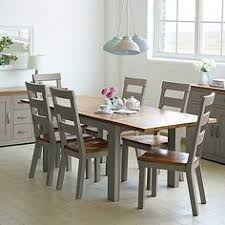 cream compact extending dining table: loxley grey extending dining table dunelm